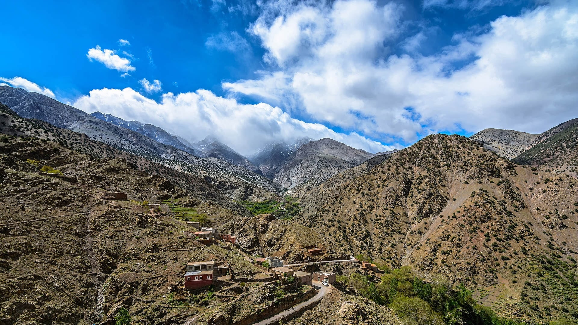 pathfinder treks - 4 day trek 3 berber valleys from marrakech option