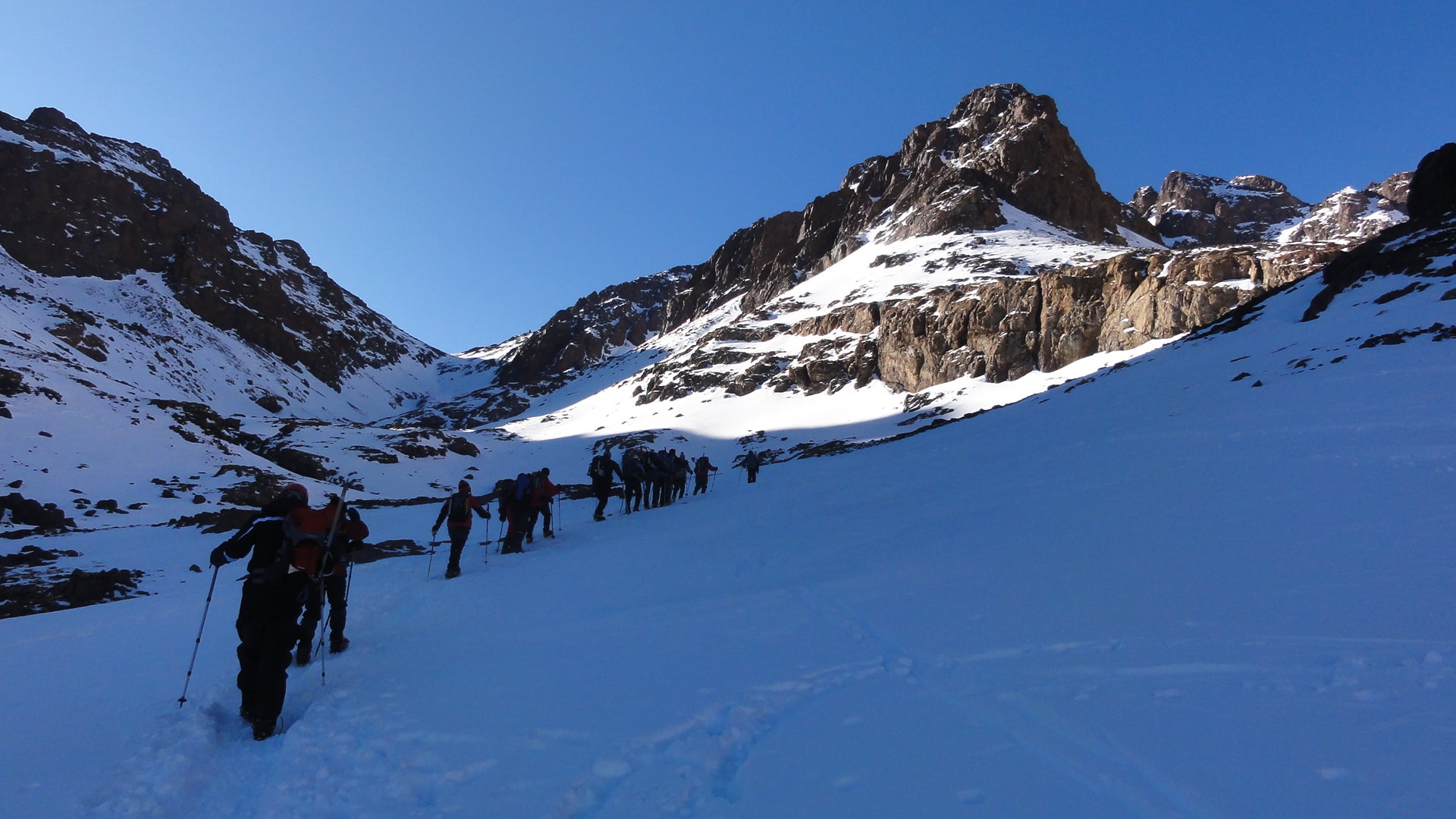 pathfinders treks - 2 day trek mt toubkal ascent