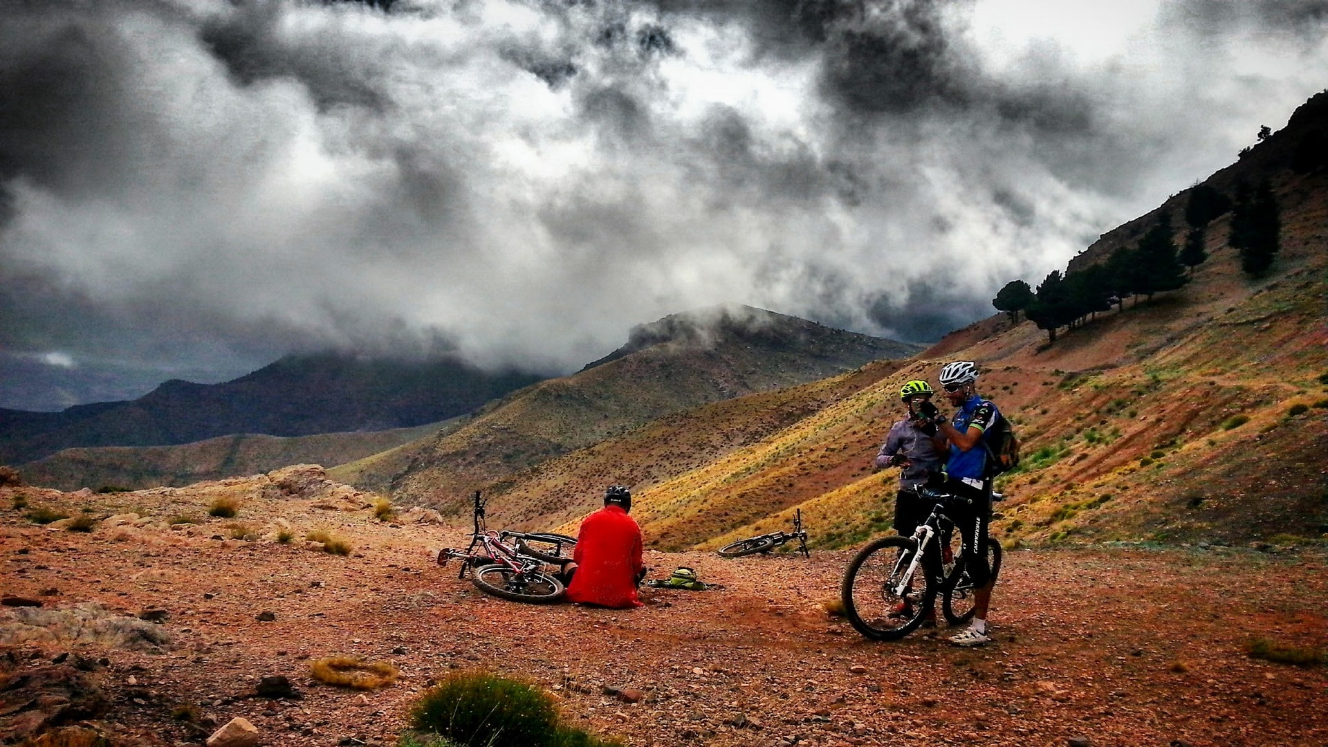 Pathfinders treks - full day atlas mountain biking day trip from marrakech
