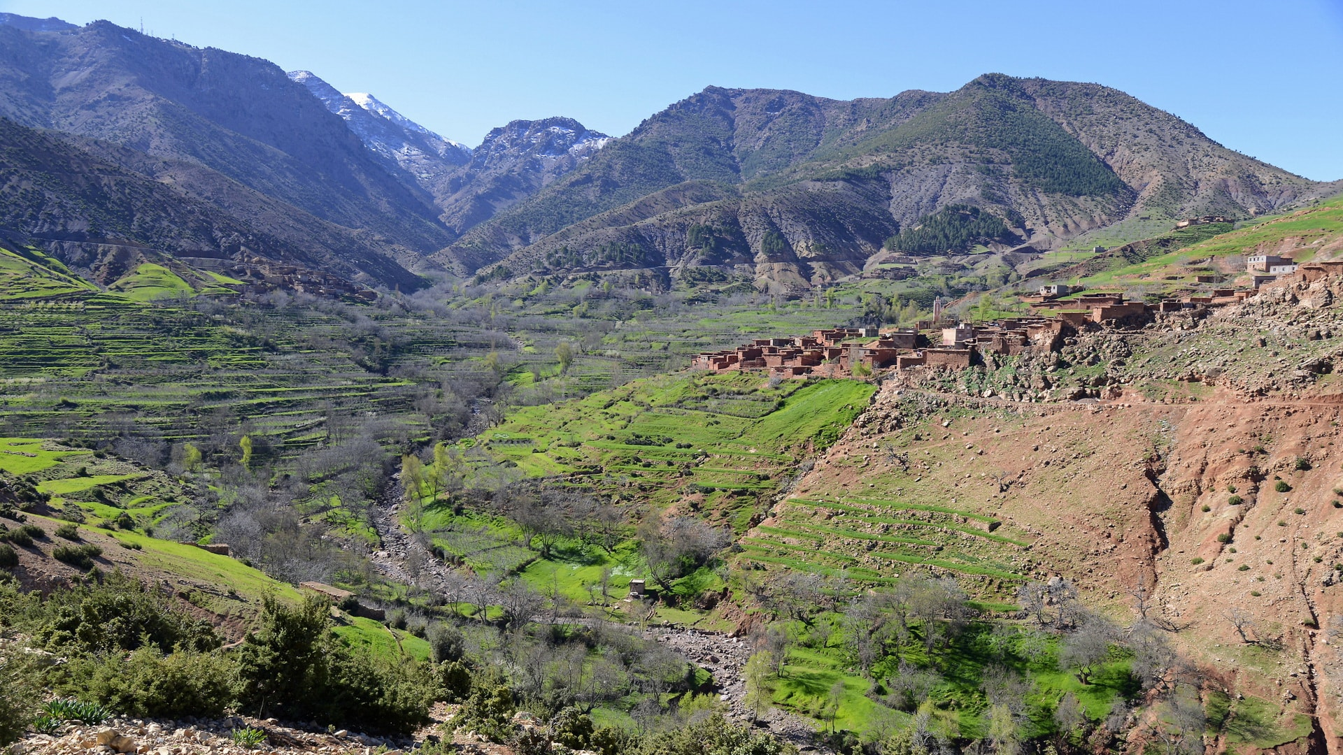pathfinders treks - mount toubkal trek 6 days from ourika valley