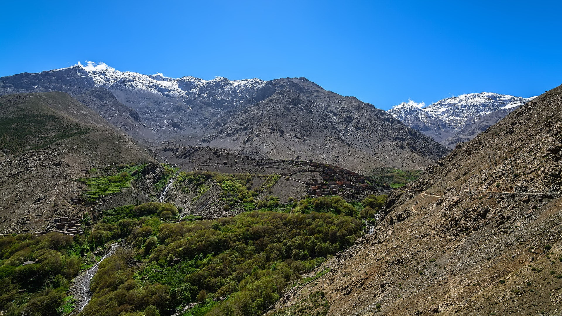Pathfinders treks - day tour to Atlas mountains combined hiking and camel ride